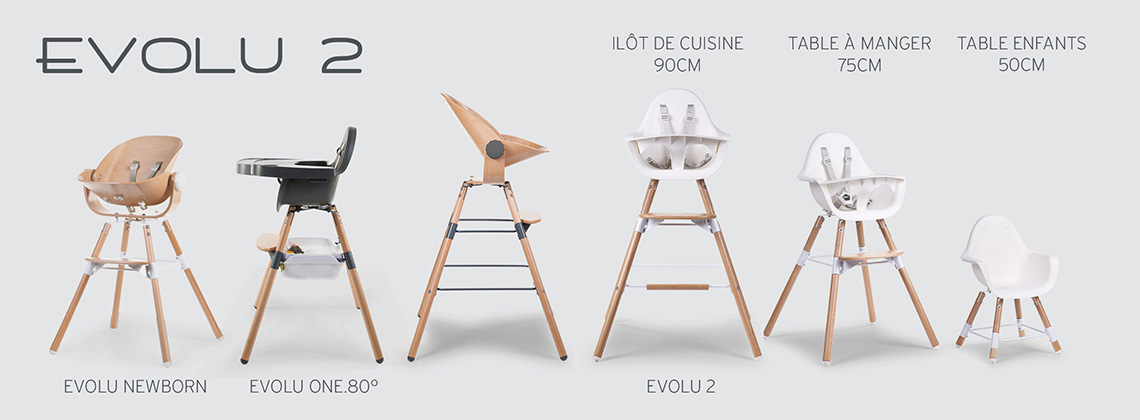 Chaise haute EVOLU 2