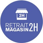 Retrait magasin 2h
