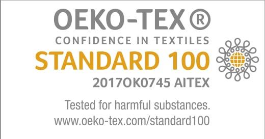 Matelas certifié Oeko-Tex