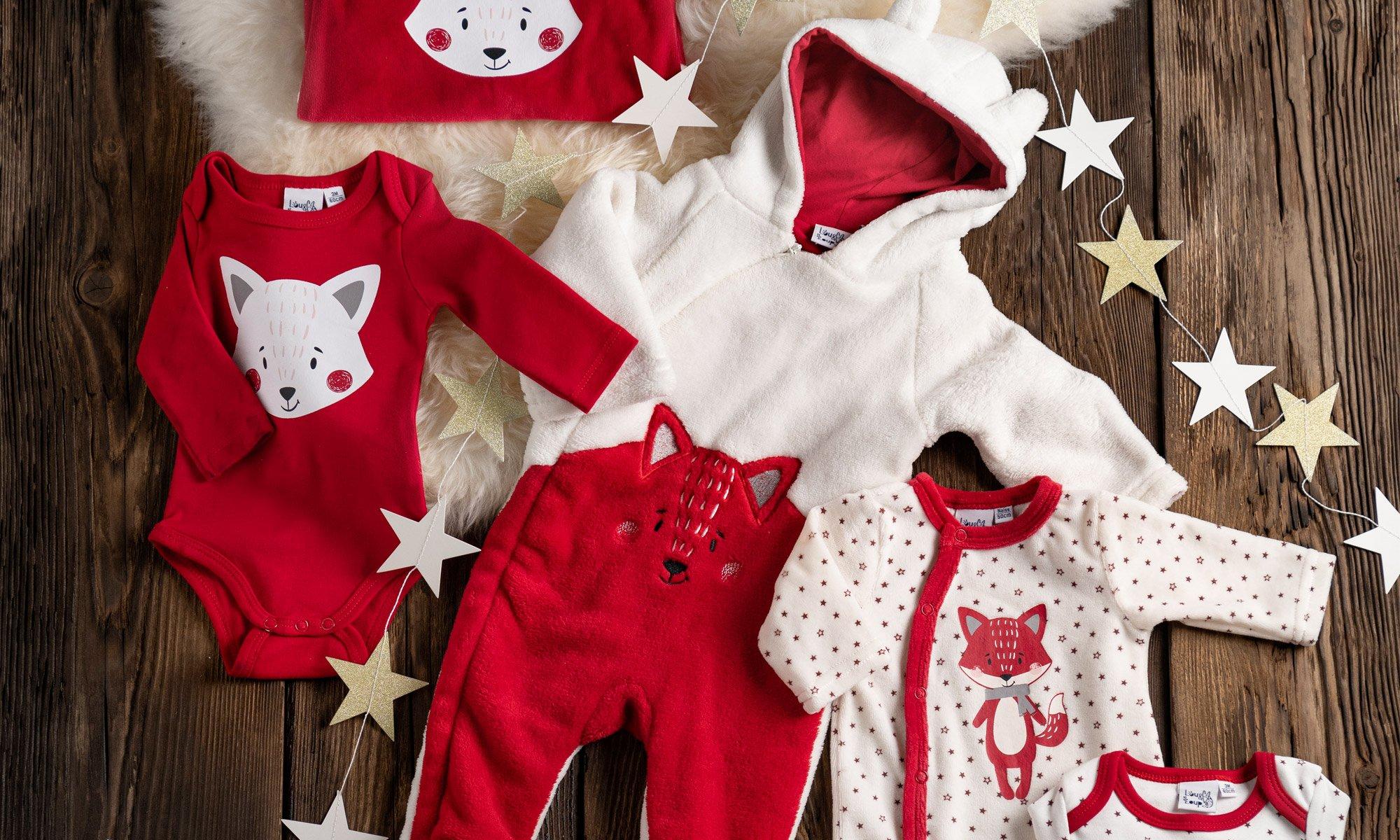 Collection Noël bébé Lou & Loup