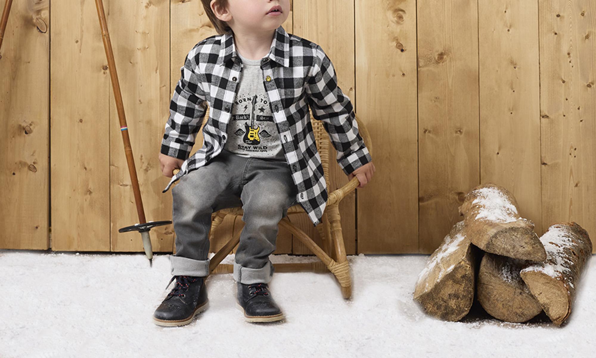 Collection de vêtements bébé Just Rock de Nanon et Nanette