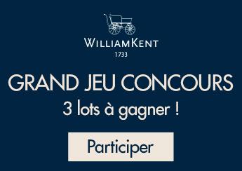 Grand Jeu Concours William Kent