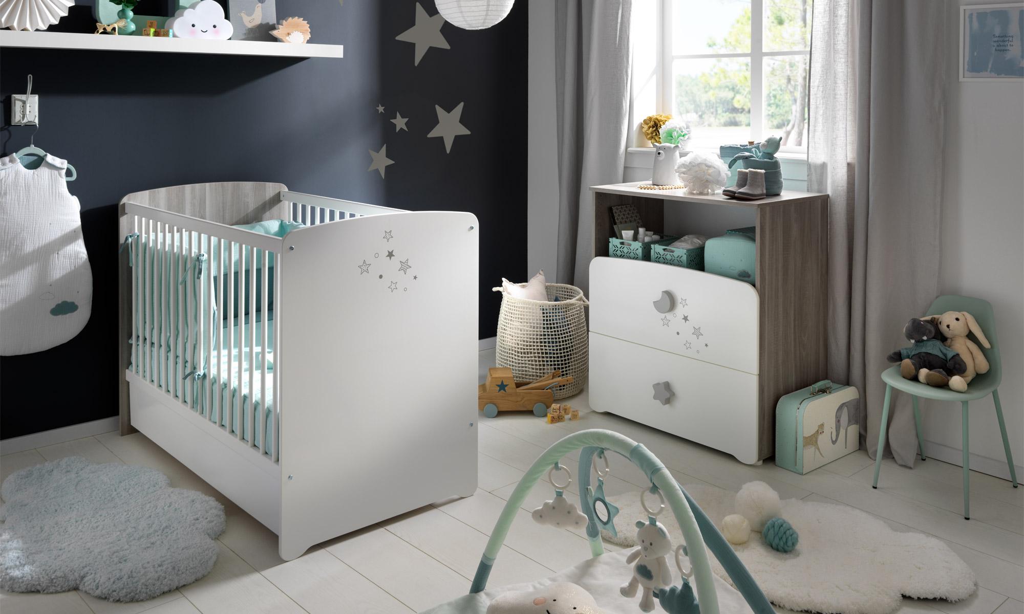 Chambre Luna de Sauthon Baby's Sweet Home