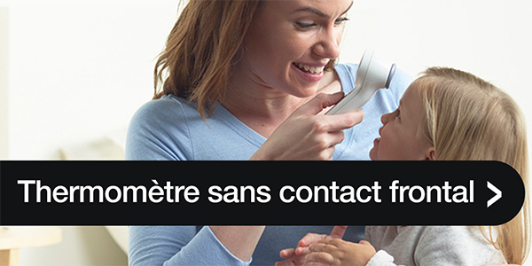 Thermomètre sans contact frontal