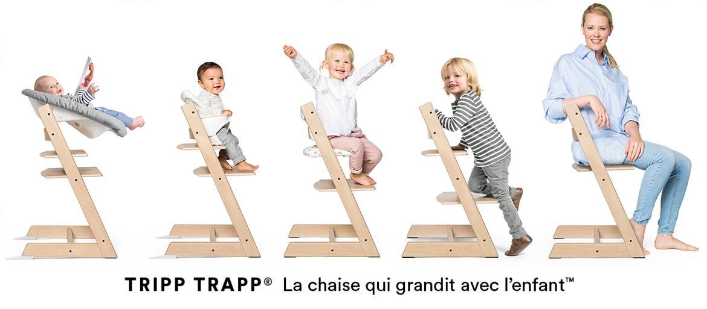 TRIPP TRAPP® La chaise qui grandit avec l'enfant™