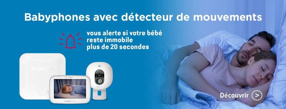 Angelcare Babyphones avec détecteur de mouvements
