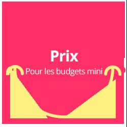 Formula Baby - Prix pour les budgets mini