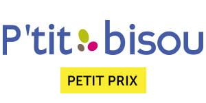 Logo de la marque P'tit bisou petit prix