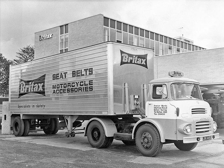Camion Britax en 1966