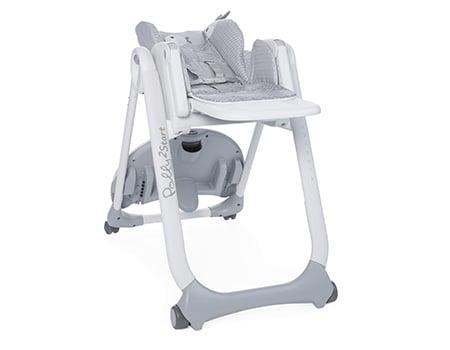 Polly 2 Start - Jusqu'à 6 mois, la chaise haute s'utilise comme transat