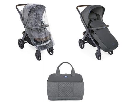 Trio Style Go Up - De nombreux accessoires sont inclus...