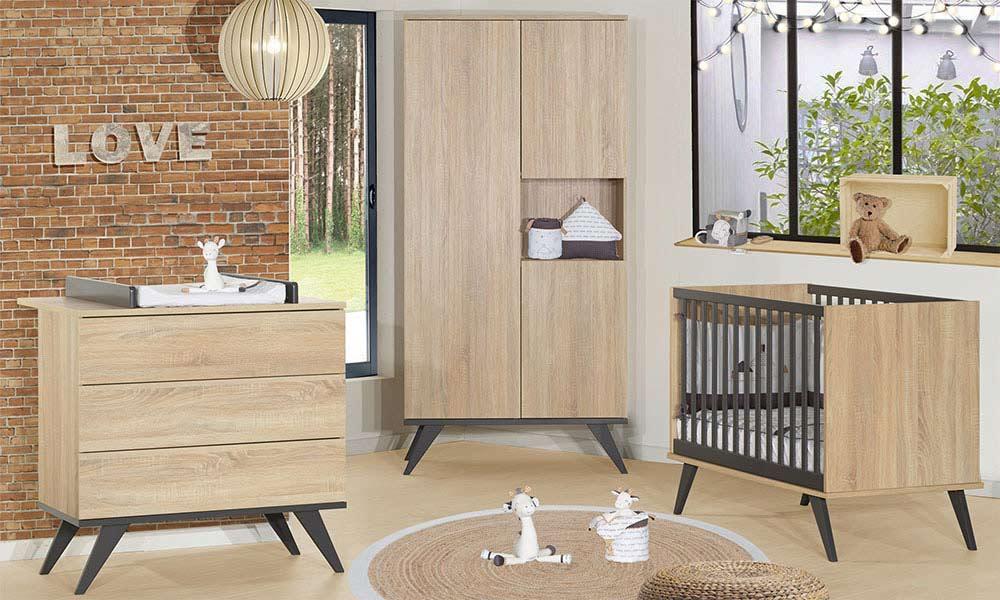 Chambres de bébé en bois