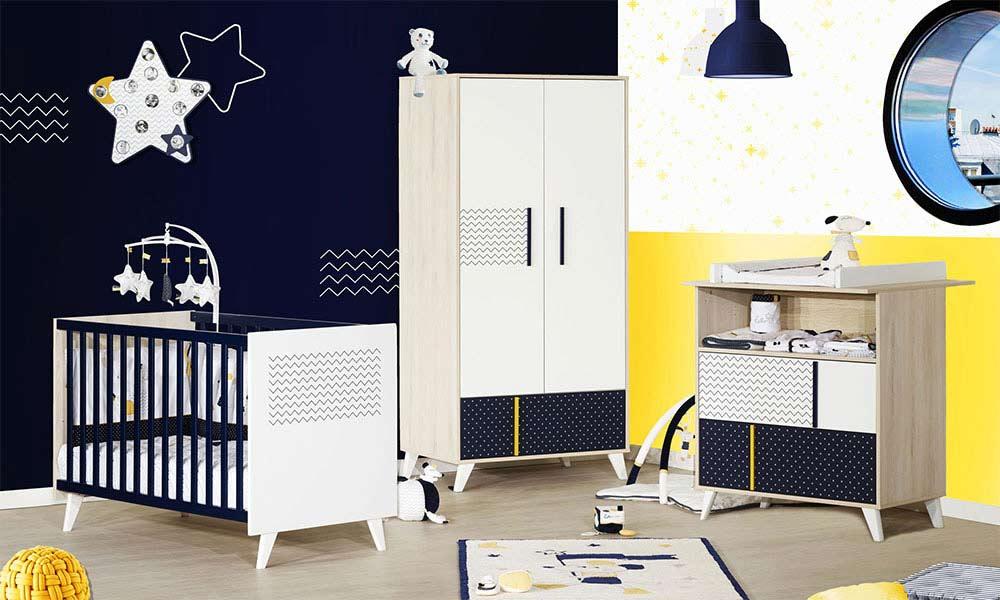Chambres de bébé colorées