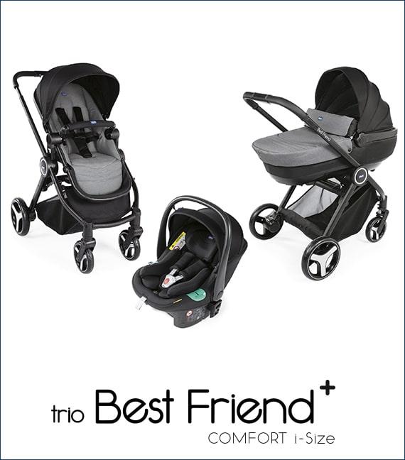 Trio Best Friend i-Size