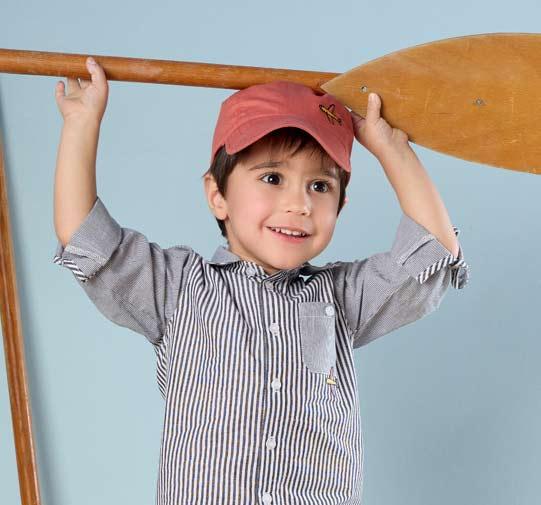 Sélection de casquettes Aubert pour garçon