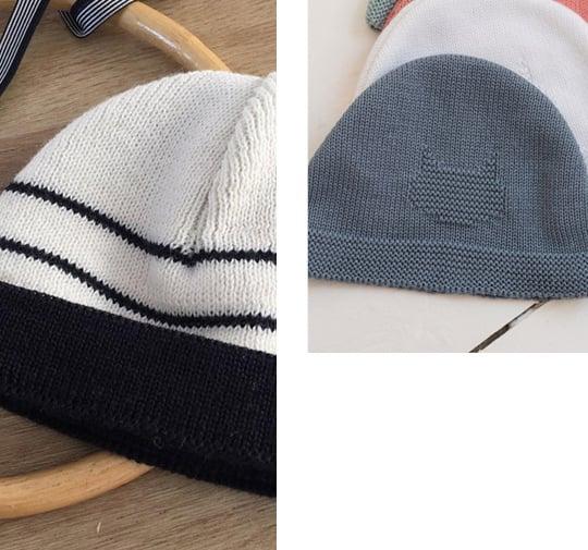 Hop, Bébé a son beau chapeau ou sa casquette pour sortir !