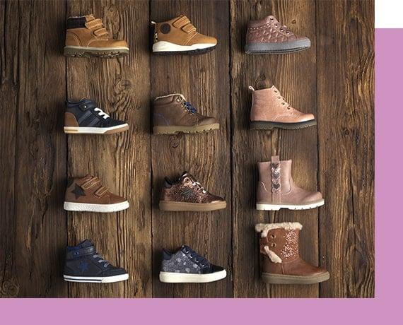 Trouvez les premières chaussures de bébé