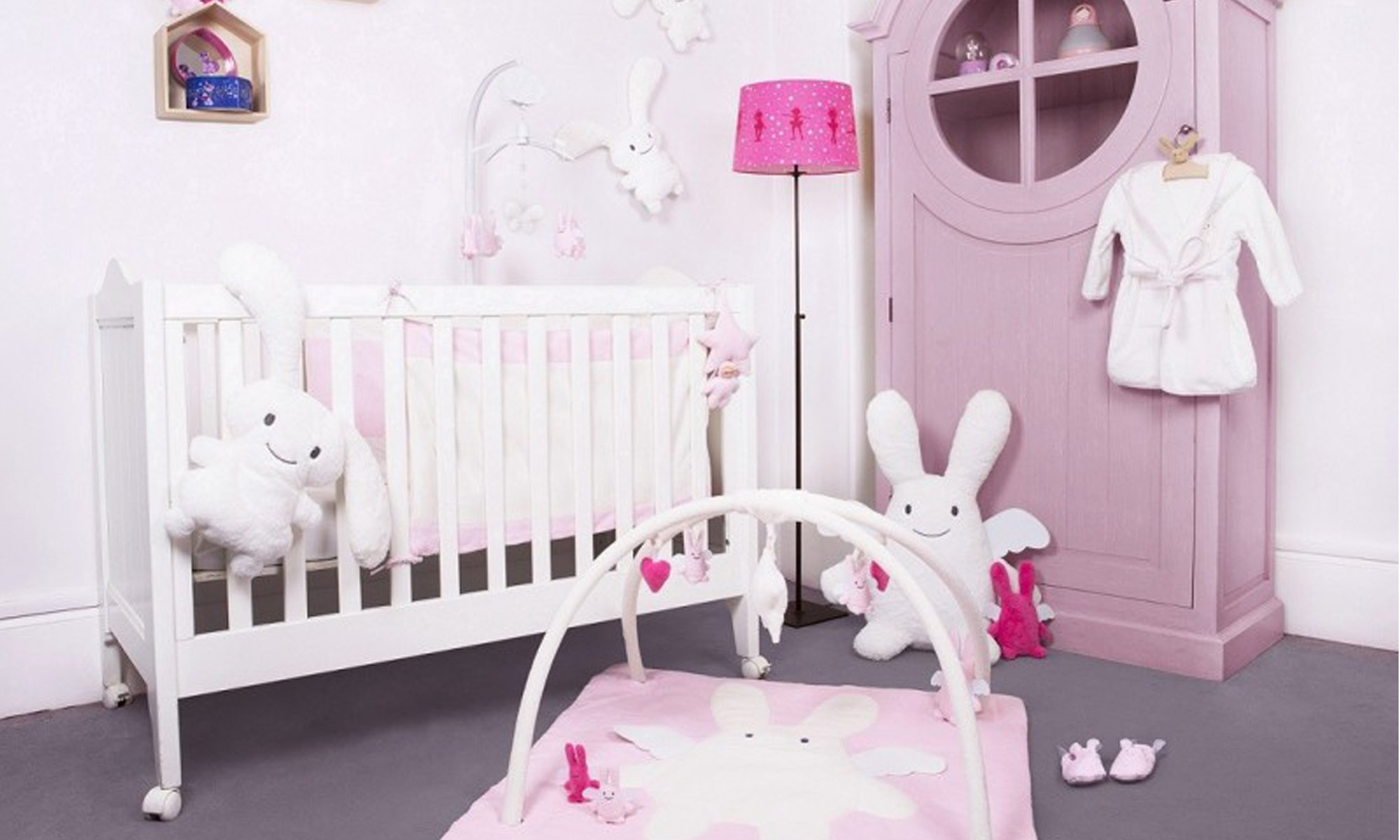 collection Ange Lapin Pink  de Trousselier
